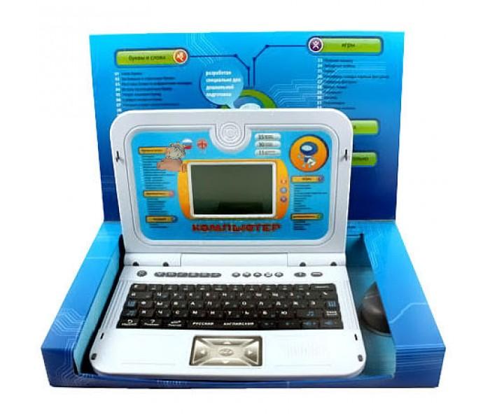 Joy Toy Компьютер 7137 обучающий, русско-английский, с мышкой