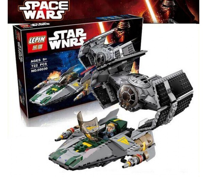 Конструктор LEPIN 05030 Истребитель Дарта Вейдера Star Wars