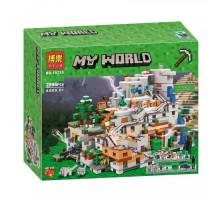 """Конструктор Bela 10735 """"Горная пещера"""" Minecraft (аналог LEGO 21137)"""