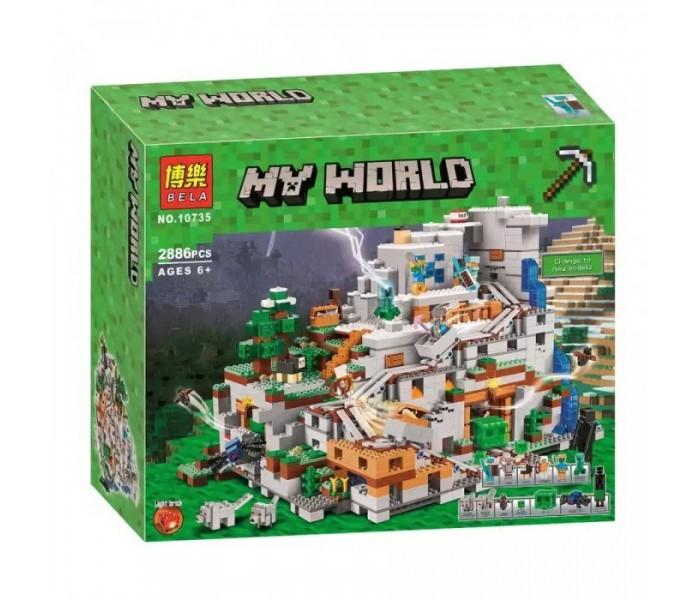 Конструктор Minecraft  Горная пещера Bela 10735 (2886 детали)