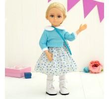 Интерактивная шарнирная кукла Алиса 50см с аксессуарами Tongde