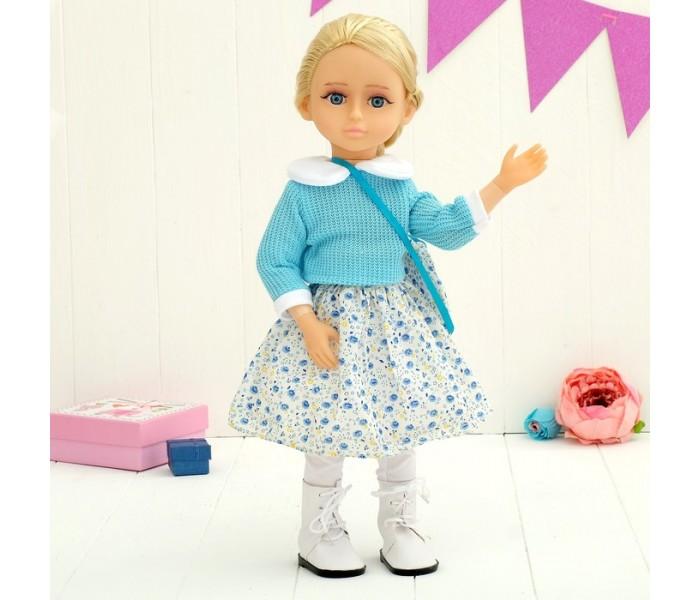 Кукла Алиса 50см интерактивная с аксессуарами Tongde MY009-10
