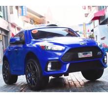 Детский электромобиль Dake Ford Focus RC (синий глянцевый)