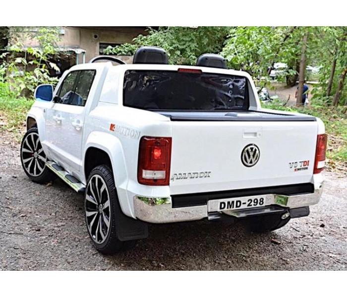 Электромобиль Volkswagen Amarok (Амарок) DMD-298 двухместный (белый)
