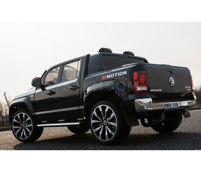 Электромобиль Volkswagen Amarok (Амарок) DMD-298 двухместный черный
