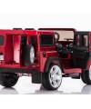 Электромобиль Land Rover Defender с ключом зажигания и резиновыми колёсами