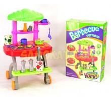 """Детская кухня игрушечная """" Передвижной набор для Барбекю"""""""