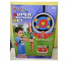 Детский лук с электронным табло на мишени King Sport