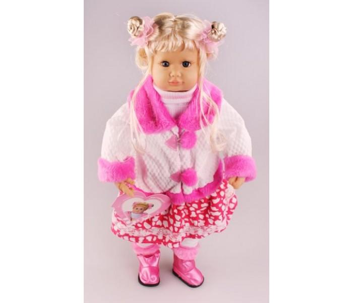 Большая говорящая кукла Настенька отвечает на вопросы
