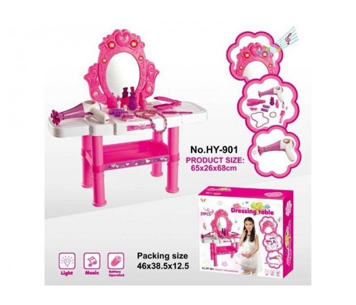 Музыкальный туалетный столик с аксессуарами для девочки