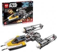 """Конструктор """"Звёздный истребитель Y-wing"""" Lepin 05065 - аналог Lego 75172 Звездные Войны"""