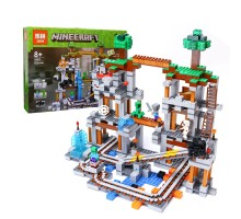 Конструктор Lepin 18011 Шахта серия Minecraft (Майнкрафт) 922 детали