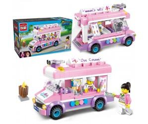 Конструктор «Фургон с мороженым» 212 деталей, Brick 1112