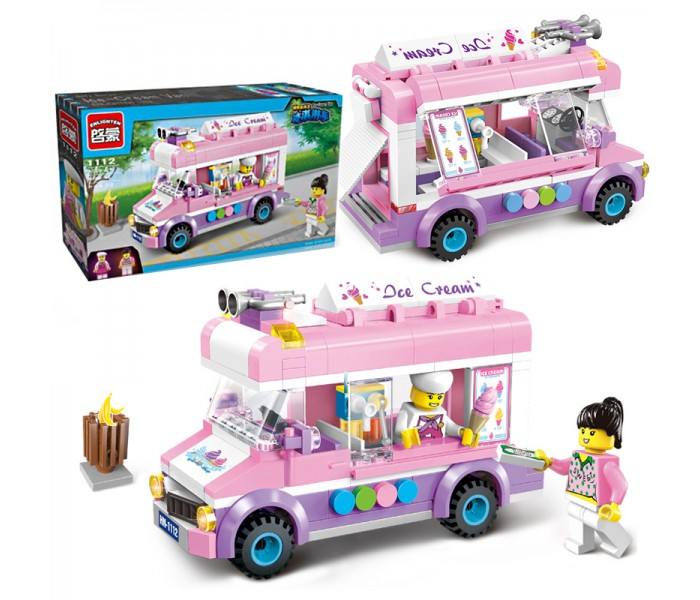 Конструктор Brick 1112 «Фургон с мороженым» 212 деталей