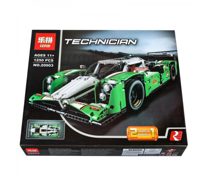 Конструктор Lepin 20003  Technic Гоночный автомобиль (аналог LEGO 42039, 1249 дет.)
