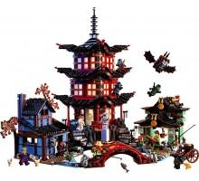 """Конструктор Bela Ninja 10427 """"Храм Аэроджитcу"""", 2031 деталь (аналог Lego Ninjago 70751)"""