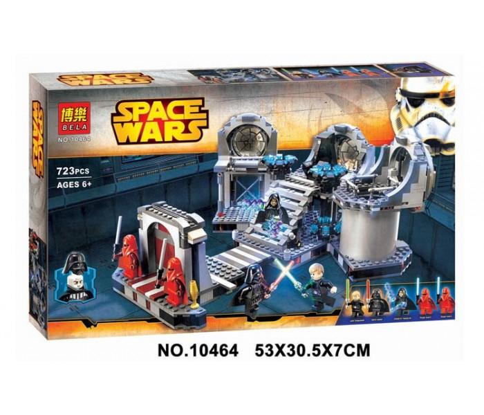 "Конструктор Bela 10464 аналог LEGO Star Wars ""Звезда Смерти: Последняя битва"", 723 деталей"