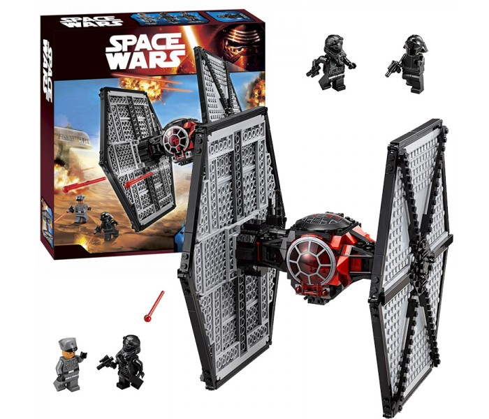 Конструктор Bela 10465 (аналог LEGO Star Wars 75101) TIE Истребитель особых войск Первого Ордена