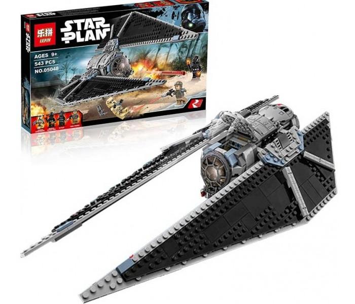 Конструктор Lepin 05048 Ударный истребитель СИД аналог Lego 75154 Star Wars , 543 детали