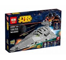 Конструктор LEPIN 05062 Имперский Звёздный Разрушитель (аналог Лего Star Wars 75055) 1359 деталей