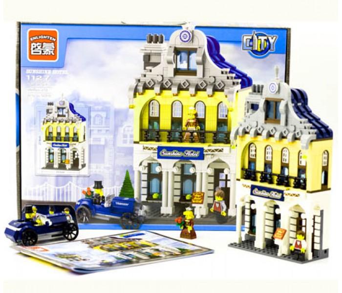 Конструктор Brick-1127 Sunshine Hotel 628 деталей