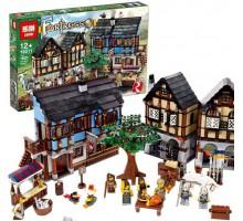 Конструктор Средневековый рынок Lepin 16011 - аналог Lego 10193 Castle (1601 деталь)