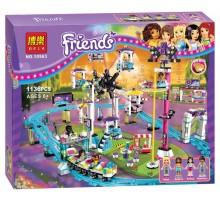 """Конструктор Bela Friends 10563 """"Парк развлечений Американские горки"""" 1136 деталей"""