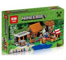 "Конструктор Lepin 18010 ""Деревня"" серия Minecraft (Майнкрафт) 1106 деталей"