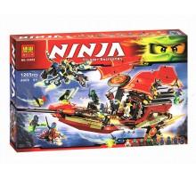 """Конструктор аналог LEGO Ninjago 70738 """"Корабль Дар Судьбы"""" 1265 деталей, Bela 10402"""