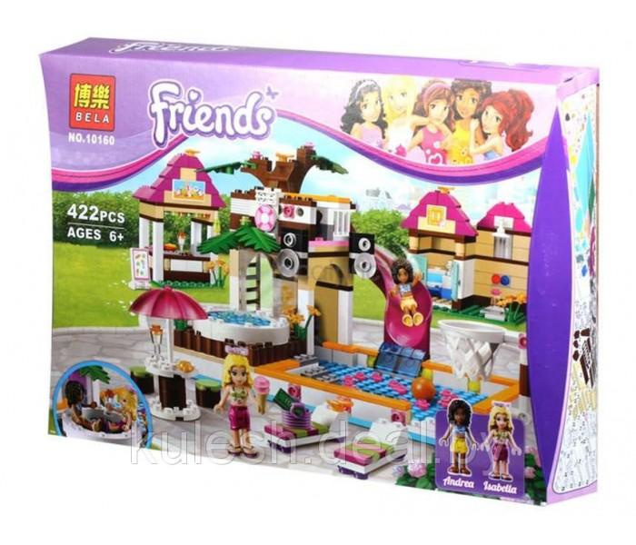 """Bela 10160 """"Городской бассейн"""" (аналог LEGO Friends 41008)"""