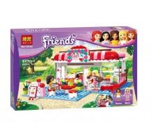 """Конструктор Bela 10162 Friends """"Кафе в городском парке"""" (аналог LEGO Friends 3061)"""
