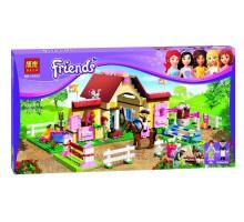 """Конструктор Friends """"Городские конюшни"""" 400 деталей, Bela 10163 аналог Lego 3189"""