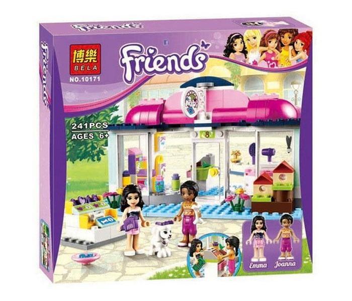 """Конструктор Bela 10171 для девочек  """"СПА-салон для питомцев"""" аналог Lego 41007"""