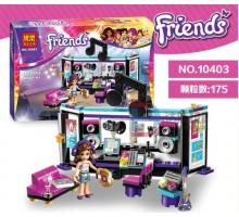 """Конструктор Friends """"Студия звукозаписи"""" 175 деталей, Bela 10403"""
