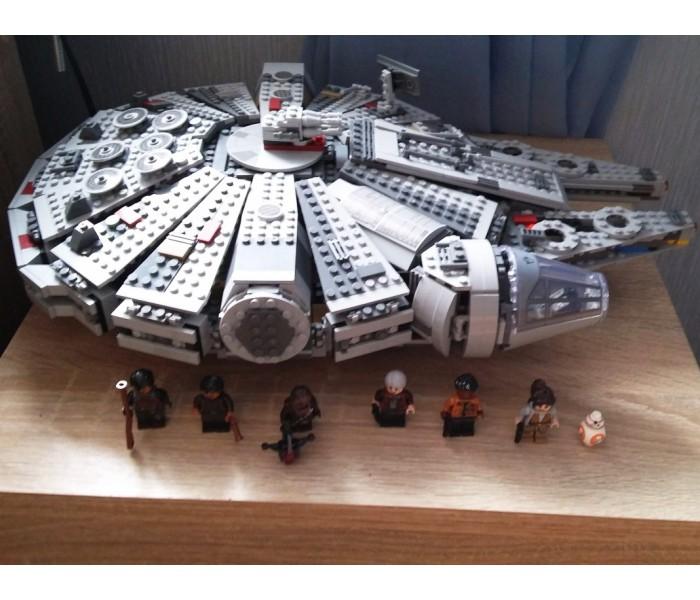"""Конструктор LELE Star Wars """"Сокол Тысячелетия"""" 79211 (аналог LEGO 75105) 1381 деталь"""