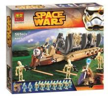"""Конструктор Star Wars """"Десантный самолет Боевых Дроидов"""" 565 деталей, Bela 10374"""