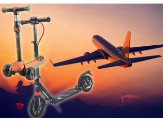 Можно ли перевозить самокат в самолете?