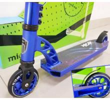 Micar Wheeze Blue трюковой самокат 2020