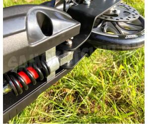 Micar Balance 200 Black самокат с дисковым тормозом и амортизаторами (черный)