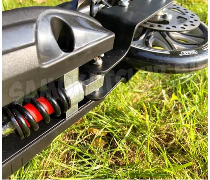 Micar Balance 200 Black с ручным тормозом и большими колесами 200мм