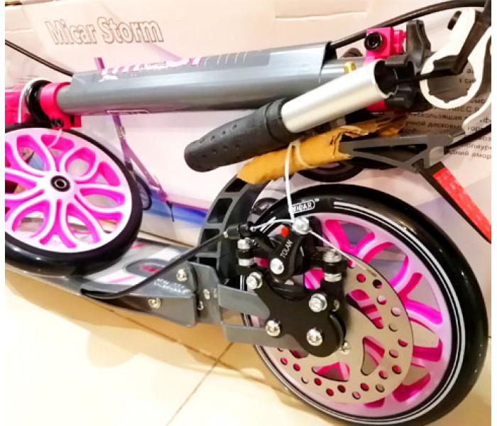Cамокат Micar Storm 200 Розовый (Арт. HT2008D)