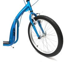 """Самокат на надувных колесах OLIMP 20/16"""" синий. Дог-скутеринг"""