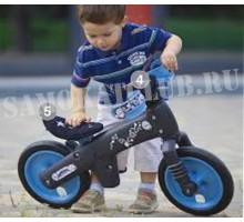 Беговел детский BELLELLI B-BIP, цвет: чёрно-синий