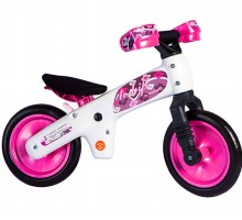 Беговел детский BELLELLI B-BIP, цвет: бело-розовый
