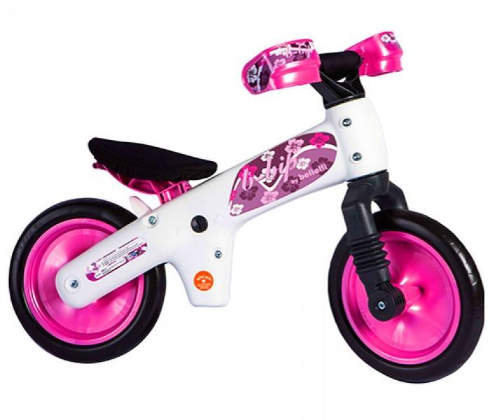 BELLELLI Беговел детский B-BIP, цвет: бело-розовый