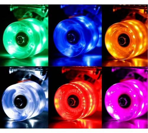 Скейтборды со светящимися колесами