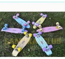 Мини-круизер Пастельный FISH Skateboards