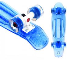 "Круизёр Playshion Firefly 22"" со светящимися колесами синий"