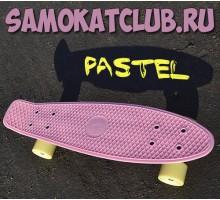 Скейт FISH(ФИШ) PASTEL розовый для девочек