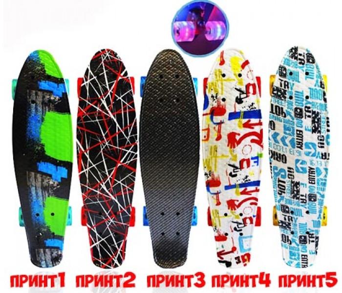 """Скейтборд Explore CORRADO New 24"""" (2017) с цветным принтом"""